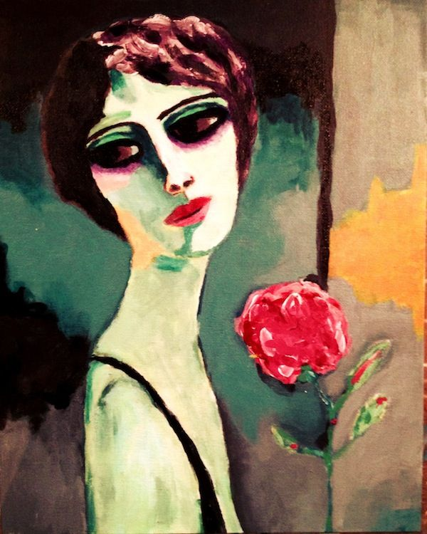 Study of Kees Van Dongen - Not for sale, only a study