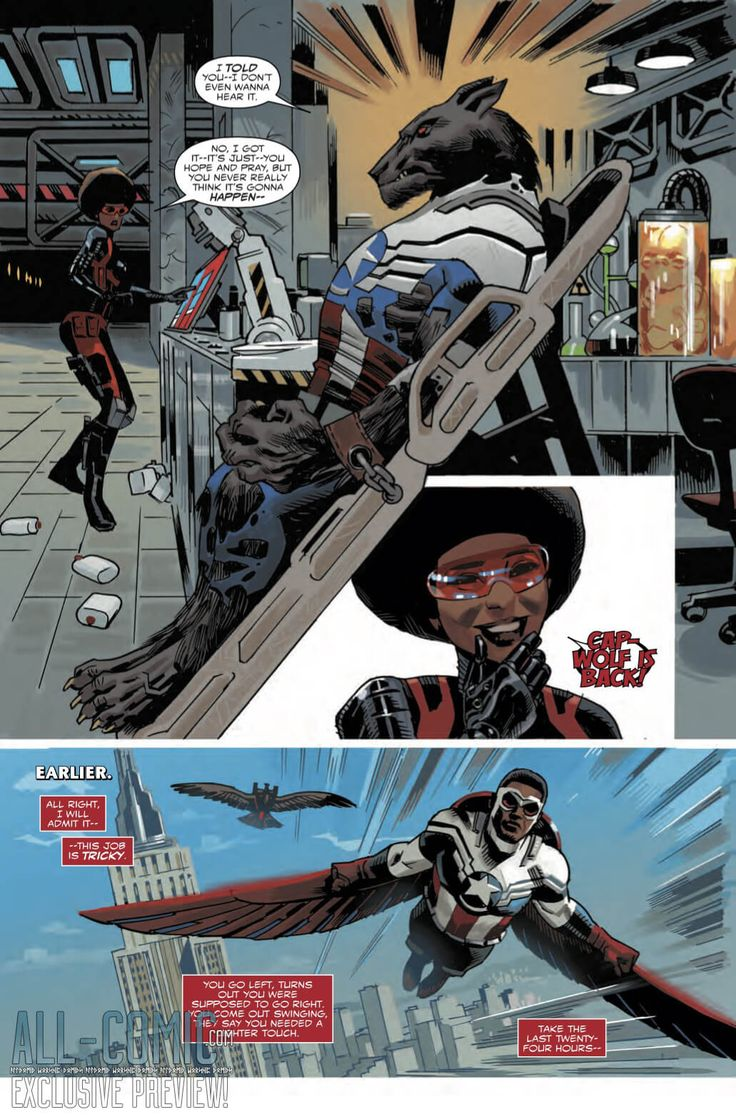 EXCLUSIVE PREVIEW: Sam Wilson: Captain America #3, Published: November 18, 2015 Rating: Rated T Writer: Nick Spencer Penciller: Daniel Acuna Cover Artist: Daniel Acuna Format: Comic Price: $3.99 ..., #All-Comic #All-Comic.com #CapWolf #CaptainAmerica #ExclusivePreview #Marvel #Misty #Preview #SamWilson #SamWilsonCaptainAmerica