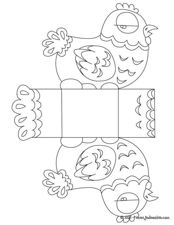 Bricolage et diy p ques a collection of ideas to try about diy and crafts free easter - Coloriage bricolage ...