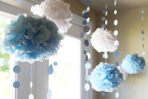 Baby shower boy decorations baby shower april showers for Baby shower decoration ideas boy