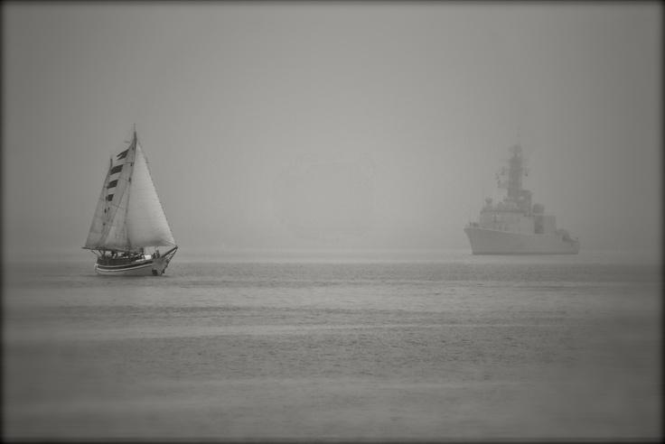 "Halifax Harbour   ""Mists of Change"""