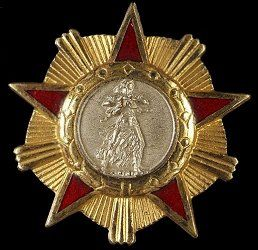 Republic of Albania: Order of Freedom Instituted: 13 October 1945. Awarded: To those who have distinguished themselves by great acts of patriotism and extraordinary merit for the strengthening of socialism.