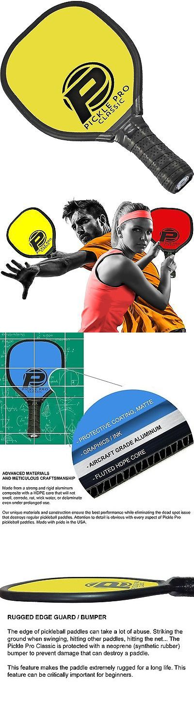 Other Tennis and Racquet Sports 159135: Pickle Pro Composite Pickle Ball Paddle (Pickle Pro Yellow) BUY IT NOW ONLY: $30.34