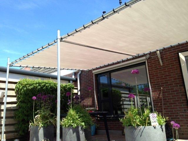 Markisen Aus Stahlrohr In 2020 Pergola Schatten Pergola Dach Garten Terrasse