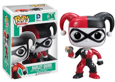 Funko POP! Heroes: Harley Quinn To Buy, click here:  https://www.facebook.com/pages/The-Zocalo-Connection/181977941943568