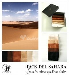 Pack del Sahara. Pashminas para bodas