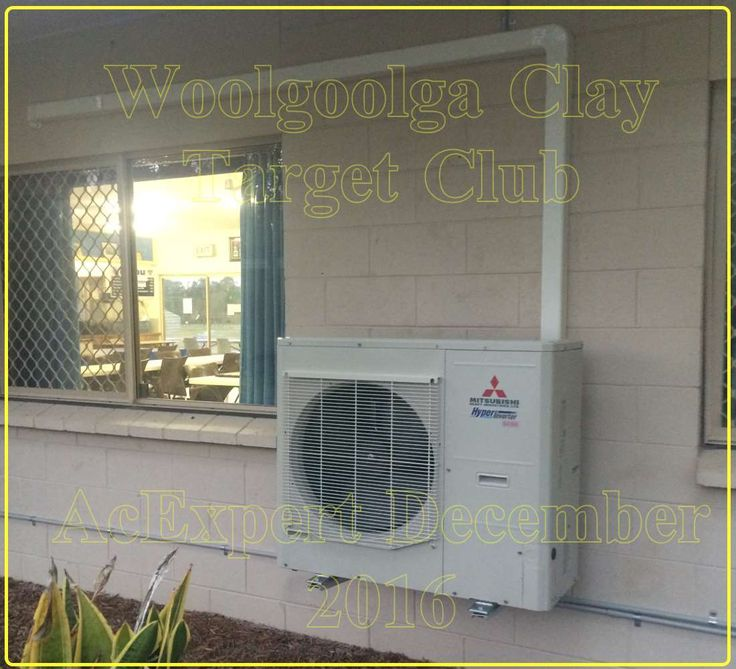 Mitsubishi Air conditioning installations Brisbane Woolgoola clay target club shooting