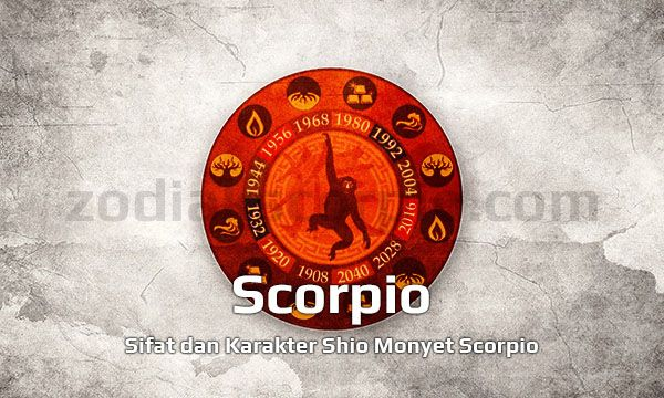 Shio Monyet Scorpio yang Terburu Nafsu