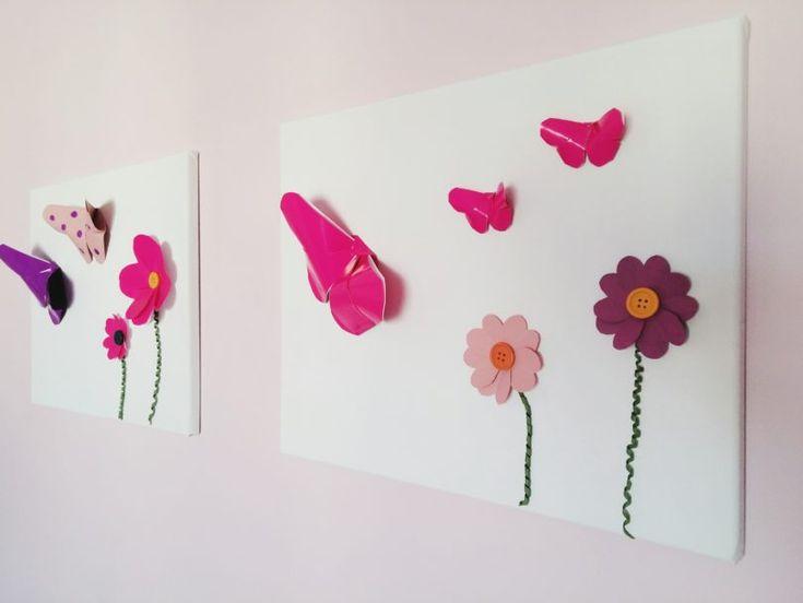 DIY wall art for kids bedroom!