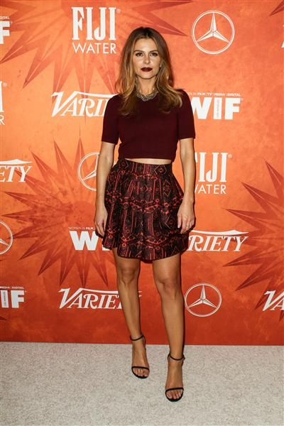 Maria Menounos attends the Variety Magazine and Women in Film Pre Emmy Party held at Gracias Madre in West Hollywood, Calif., on Sept. 18, 2015.