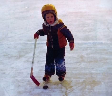 Saku Koivu as a kid. #Saku #Koivu #young #kid #child #hockey #Finland #NHL #old #love #Montreal #Canadiens #Habs #Turku