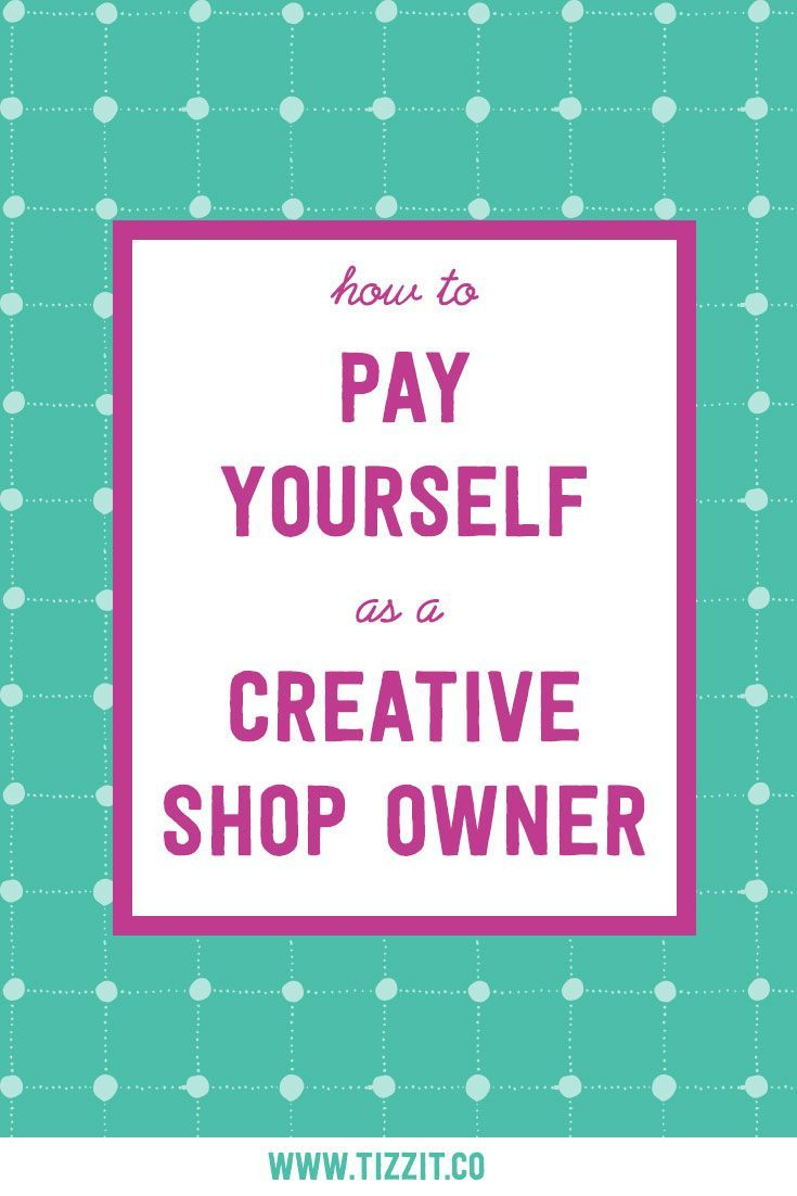 Many makers struggle to figure out how to pay themselves for the work they do in their creative business. When starting out, it's all about trying to make sales first; and personal and business finances are often mixed up. There is a better way to pay yourself, pay your bills, and re-invest in your business without feeling like your bank account is a hot mess. Let me show you how.