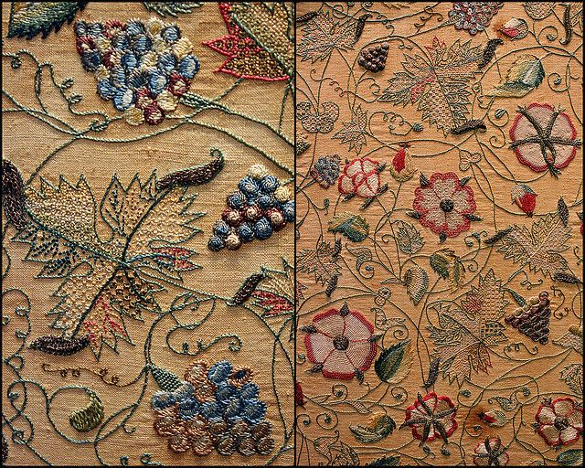 17th c. embroidery