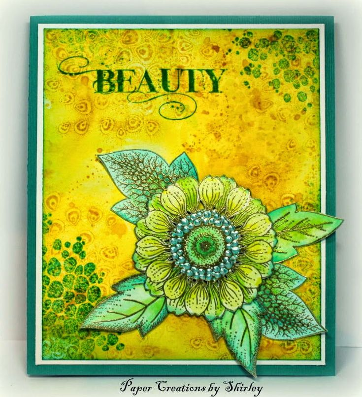 Paper Creations by Shirley: Beauty with New Fragment stamps - images by Chocolate Baroque