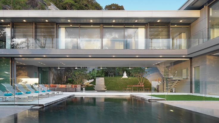 Villa Amanzi by Original Vision Ltd  http://www.mildred.co/issue-95/my-place-or-yours/villa-amanzi/  #architecture #design #interior #luxury #house #style #interiordesign #archilove