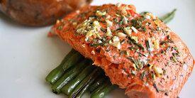 Vemale.com: Salmon Panggang Bumbu Daun Ketumbar
