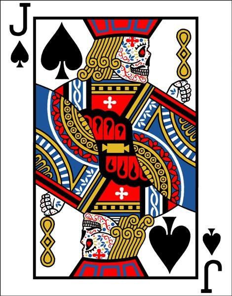 jack playing card tattoo