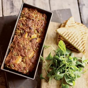 Recept - Gehaktbrood met appel en paprika - Allerhande. Aanrader!