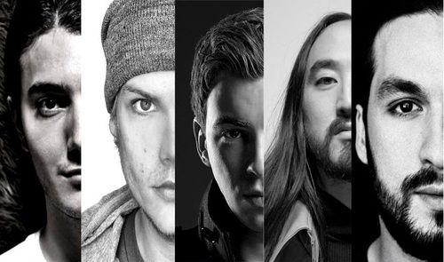 Alesso, Avicii, Hardwell, Steve Aoki, Steve Angello