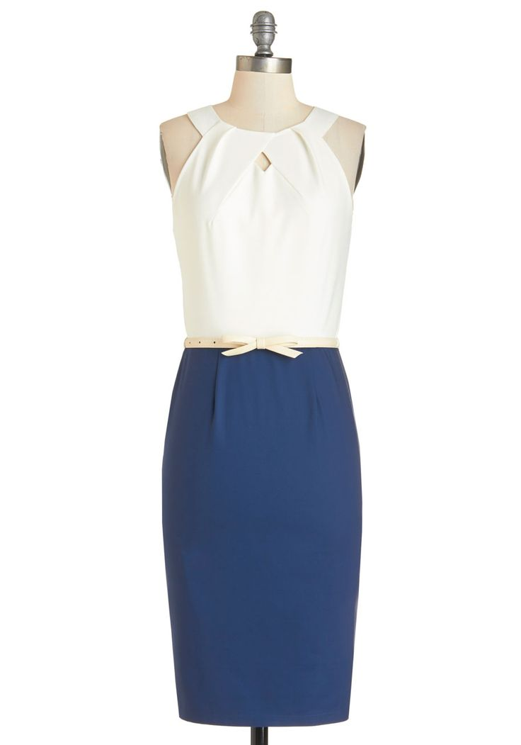 Conference on the Coast Dress. Take this chic sheath and class up any convention!  #modcloth
