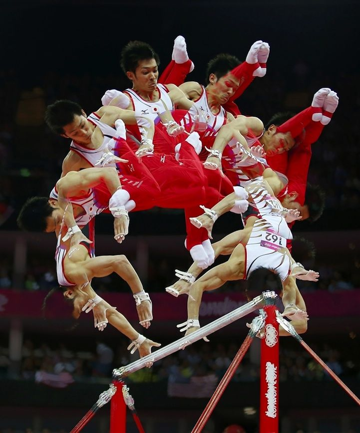 2012 Olympics Sequential Photography | Creative Greed