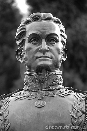 Born the 24the of July 1783- © Sourabh Jain | Dreamstime.com- Simon Bolivar (1783-1830). Remembered as the Founder of la Gran Colombia (The Great Colombia: Ecuador, Colombia & Venezuela), and Liberator of Colombia, Ecuador, Peru and Venezuela.