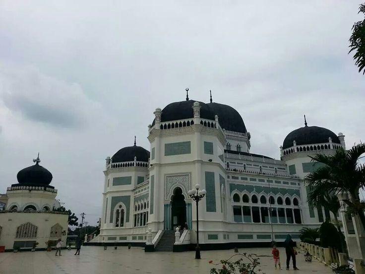 Medan's Great City Mosque #visitIndonesia