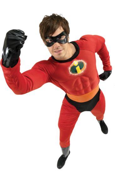 Disney Mr Incredible Super Hero Costume