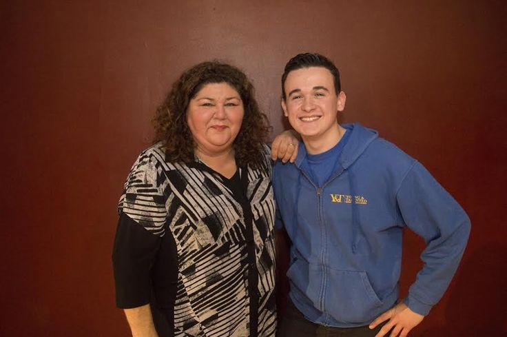 Y&T's CBBC star Reece Buttery with our special guest Ex- Eastenders actress Cheryl Fergison