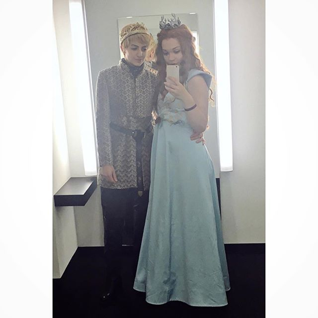Pin for Later: 68 DIY Game of Thrones Costumes Perfect For Anyone Who Loves the Old Gods and the New King Tommen and Margaery Tyrell