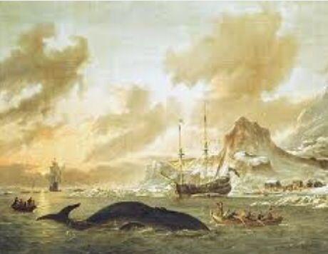 Walvisvangst bij Spitsbergen