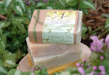 Apply Valley Natural Soap - another all natural soap/skin care company, but with longer curing times, better prices and 10% of proceeds go to support pregnancy crisis.