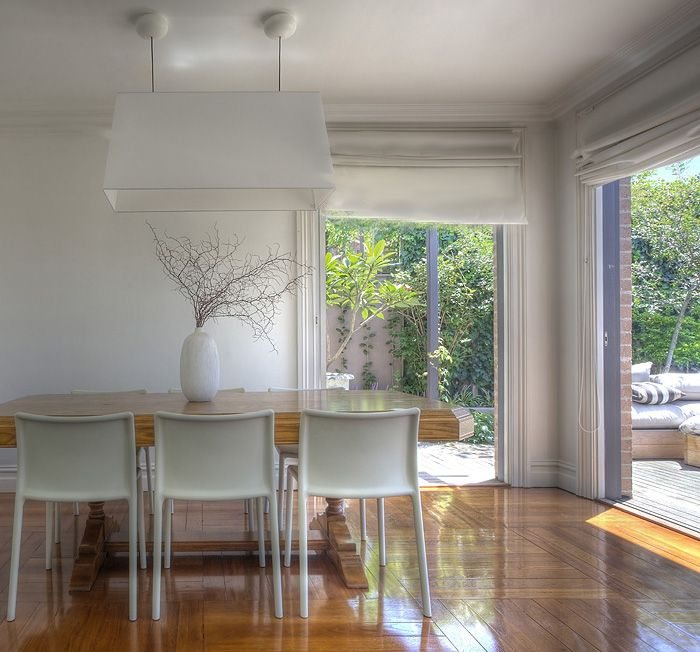 A dining room renovation as a component of a KMH Projects job at Kensington, Sydney.