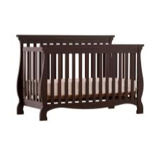 Carrara 4 in 1 Convertible Crib by StorkCraft - As baby grows convert the crib to a toddler bed to a daybed and finally a full size bed!