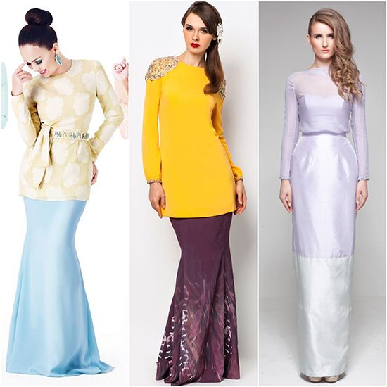 Runway to Raya: Current Trends To Incorporate Into Your Baju Raya Looks For 2013 | tongue in chic
