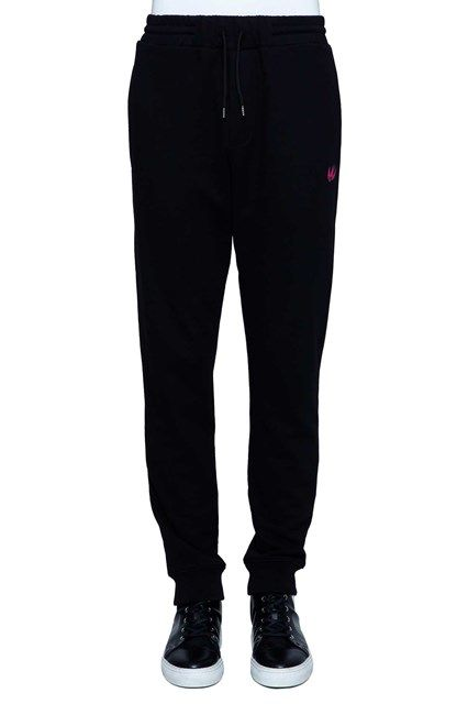 McQ ALEXANDER McQUEEN 'swallow' fleece trousers