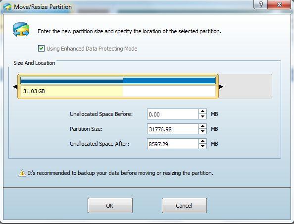 Chia dung lượng ổ cứng không mất dữ liệu - ảnh 6