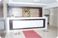 Reception Hall of UG Regal Budget Hotels in Bangalore near Bus Stop