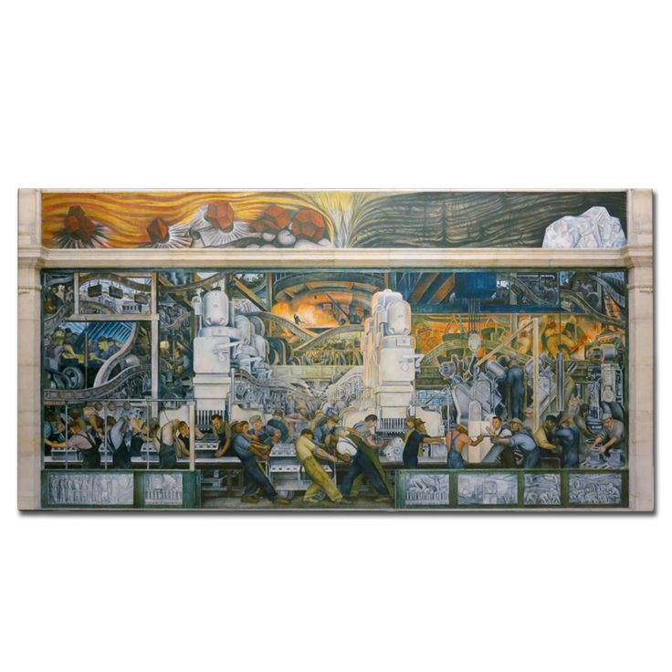 71 best diego rivera images on pinterest diego rivera for Diego rivera detroit mural