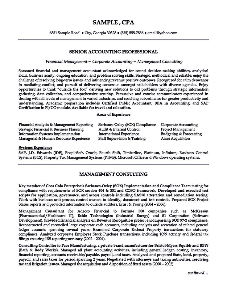 writing accountant resume sample is not that complicated as how the work of accountant will be