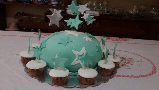 Torta turquesa