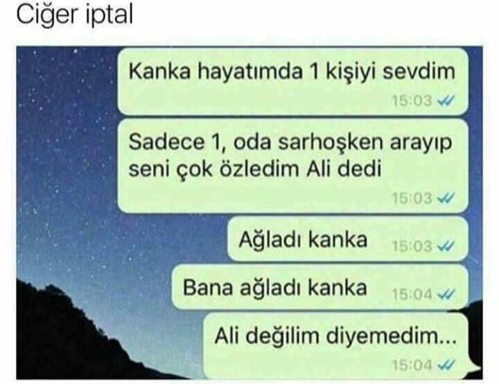 Üzücü...