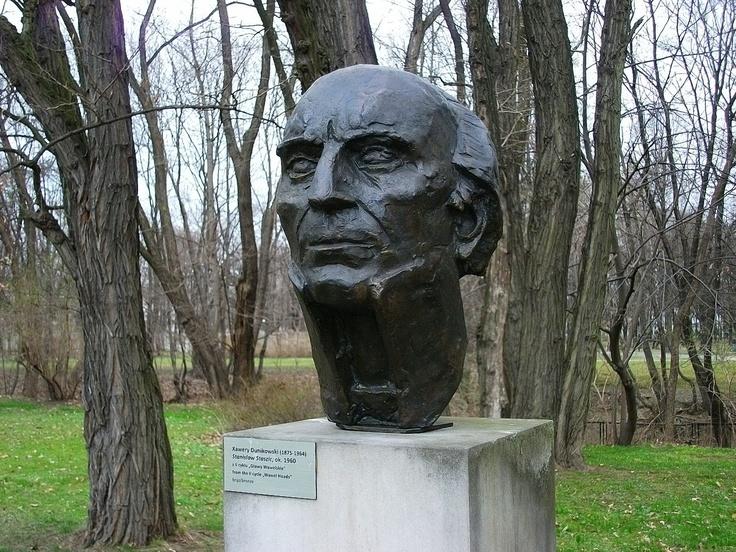 xawery dunikowski, stanisław staszic (z cyklu: głowy wawelskie), ok. 1960, brąz, królikarnia-warszawa