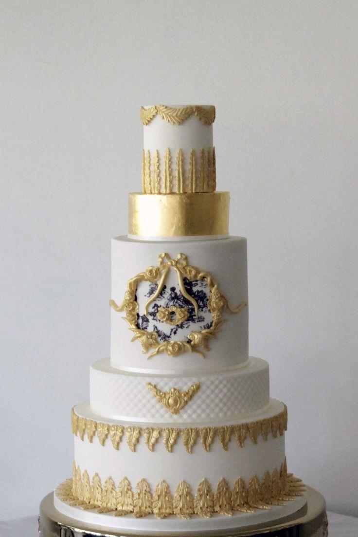 35 best Wedding cakes images on Pinterest   Cake wedding ...
