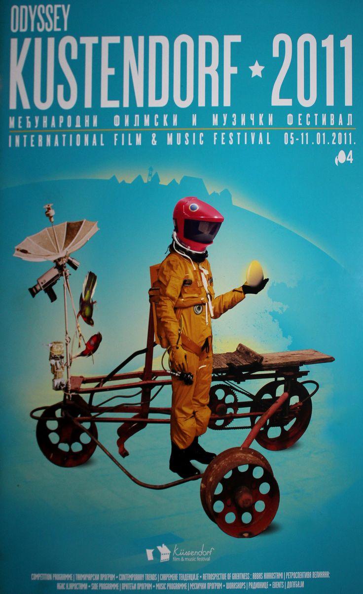 kusturica film festival flyer