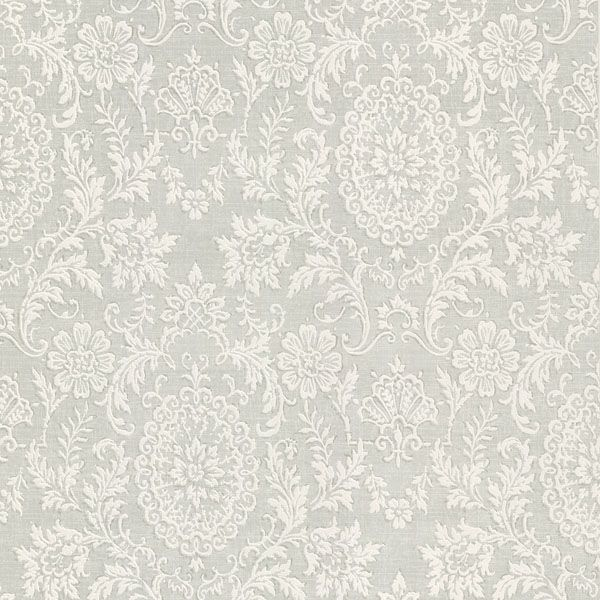 Brewster Home Fashions La Belle Maison Ornament X Damask Embossed Wallpaper  Color: Grey