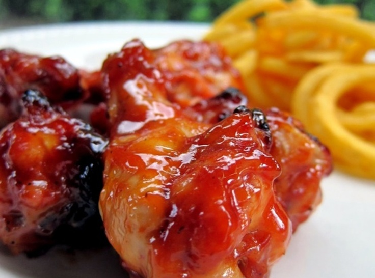 Brown Sugar BBQ Wings | *Appetizers and Nibbles | Pinterest