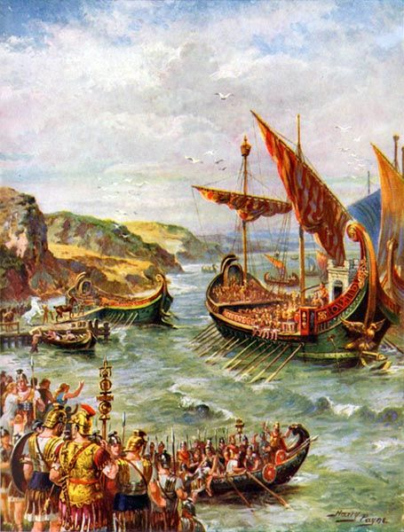 Emperor Claudius' invasion of Britain