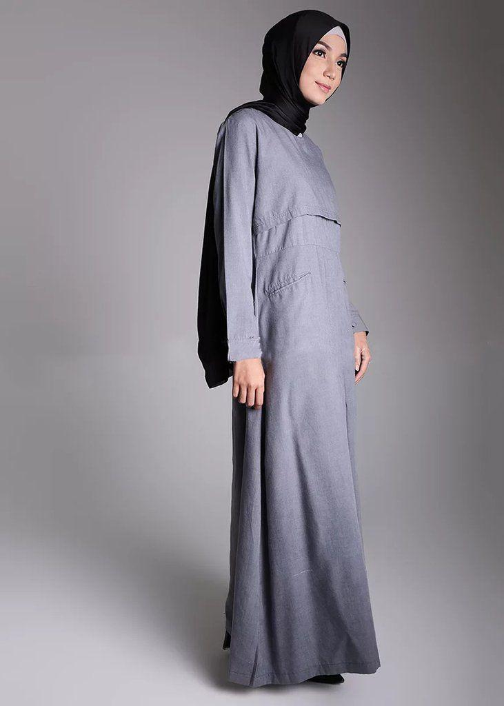 Basaya Dress Grey