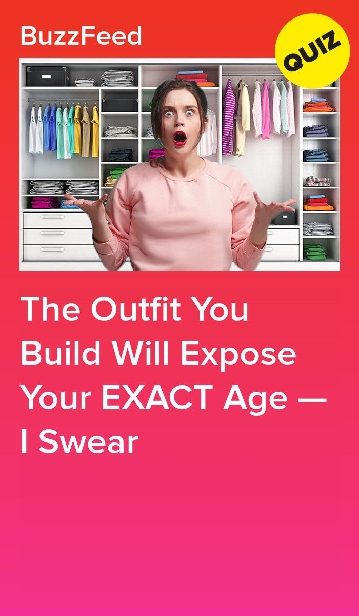 The Outfit You Build Will Expose Your EXACT Age — I Swear